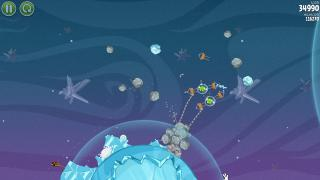 Скриншот Angry Birds Space