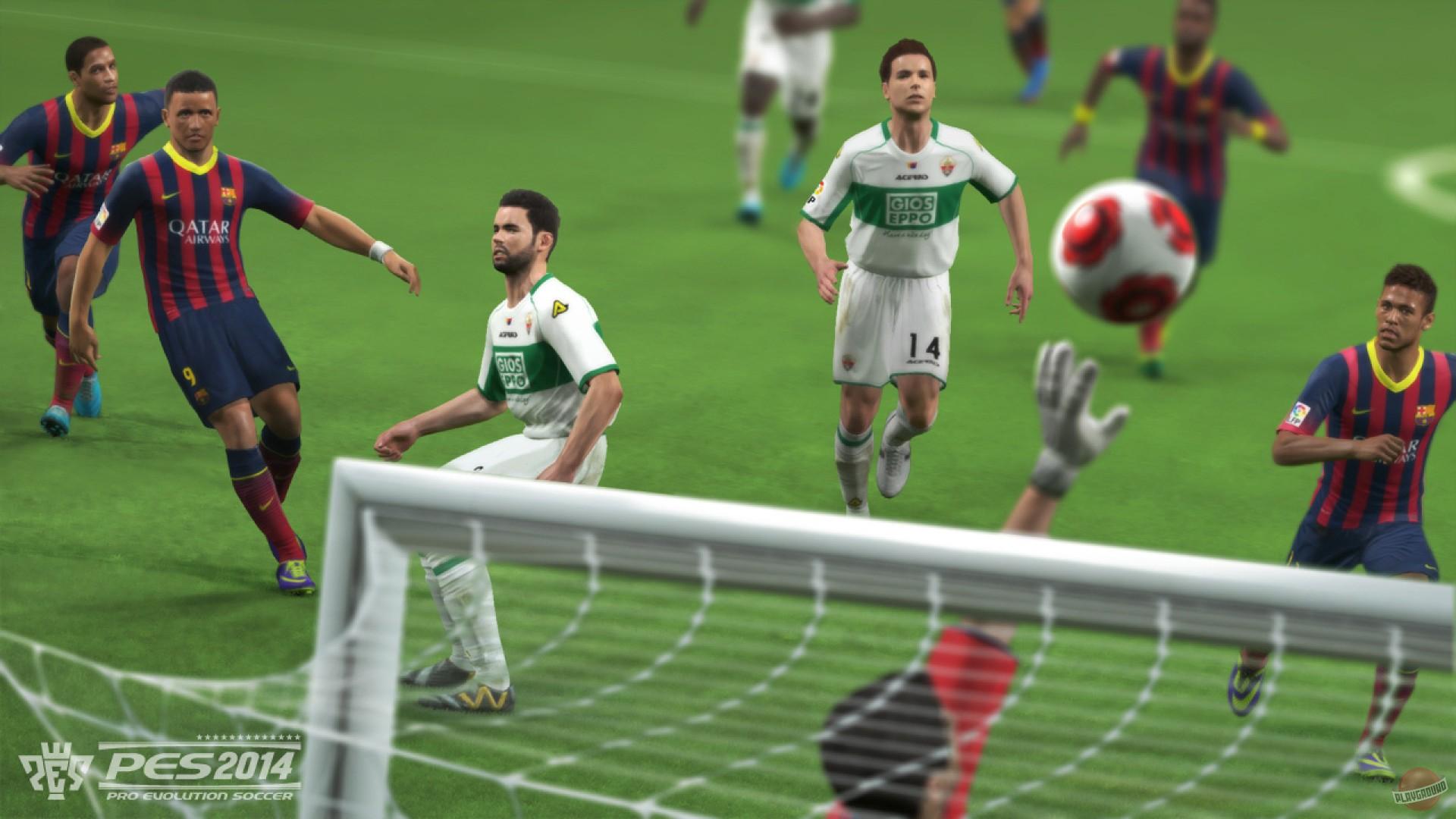 Скриншоты Pro Evolution Soccer 2014 - галерея, снимки экрана, скриншоты