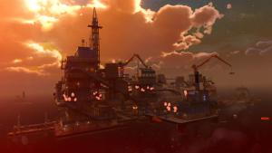 миниатюра скриншота Sunset Overdrive: and the Mystery of the Mooil Rig