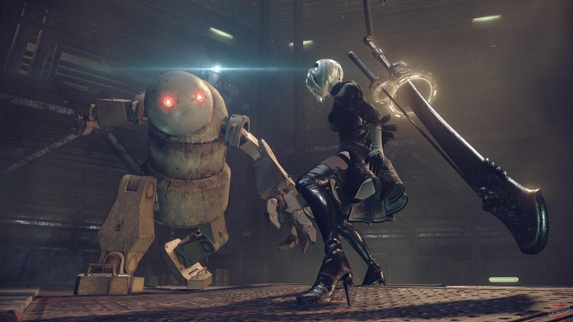 Скачать торрент игры NieR: Automata