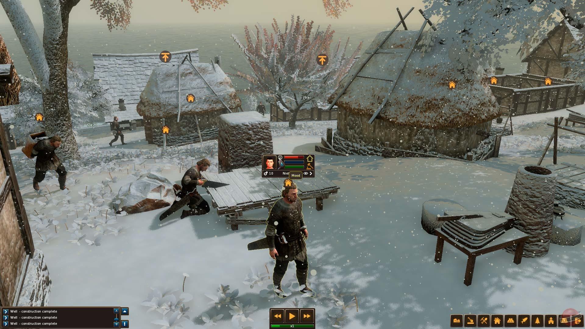 Life is feudal forest village геймплей картинки фото сюжетно-ролевая игра почта