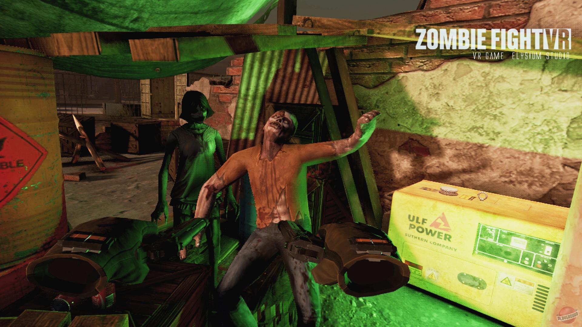 Скачать торрент игры ZombieFight VR