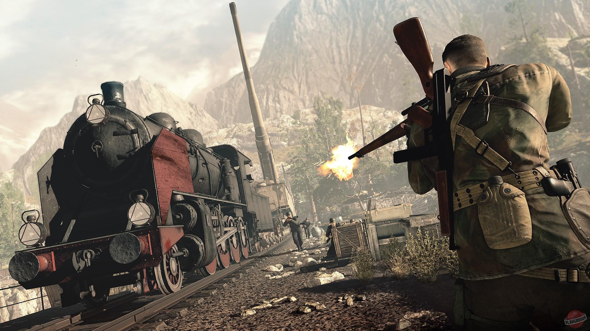 Скачать торрент игры Sniper Elite 4