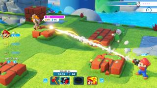 Скриншот Mario x Rabbids: Kingdom Battle
