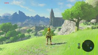 Скриншот Legend of Zelda: Breath of the Wild, the