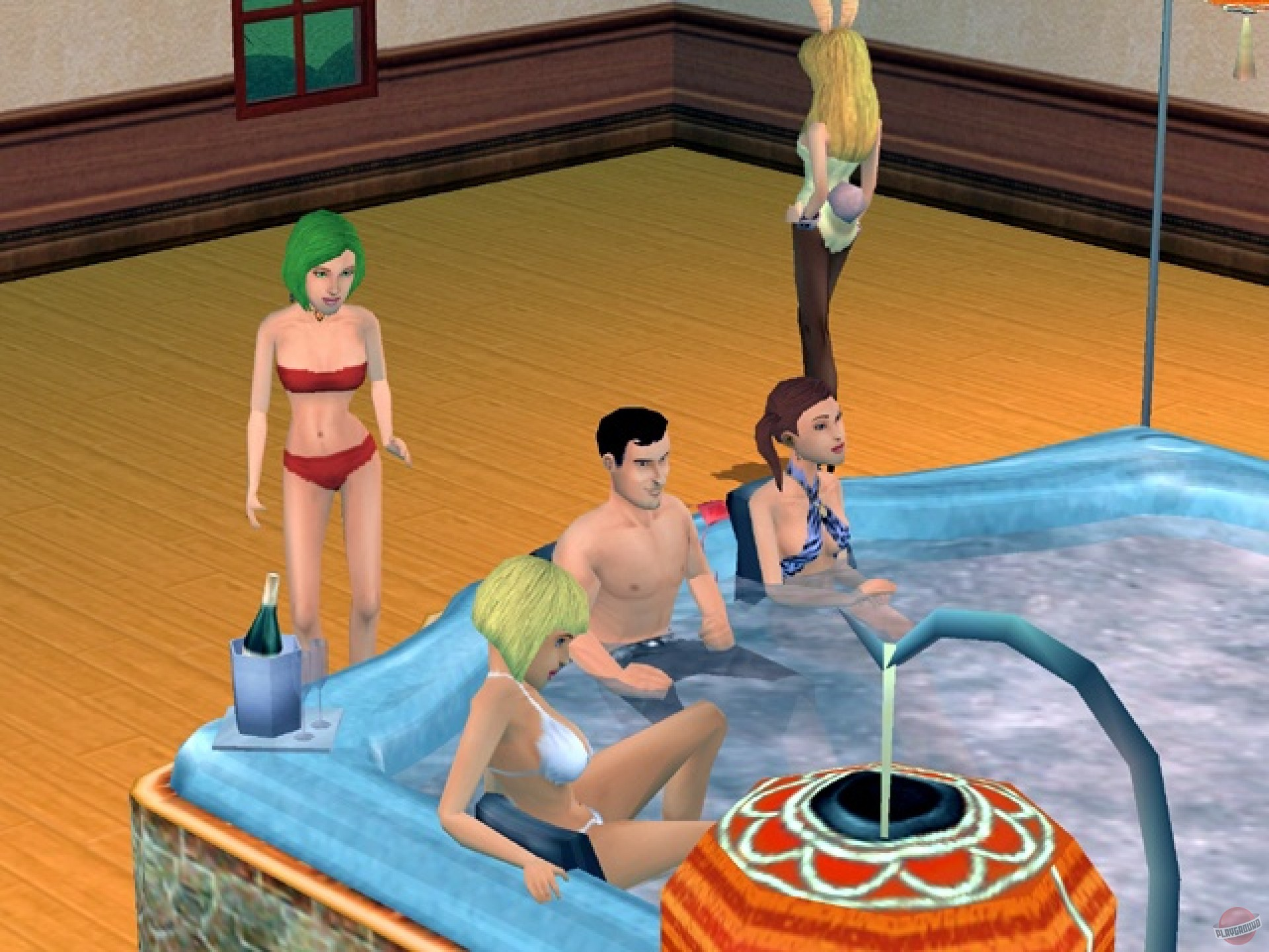 The sims 3 playboy fucks film