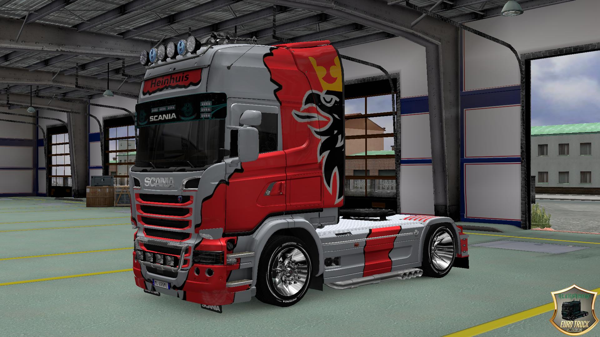 Skin Heinhuis v1 for Scania Streamline