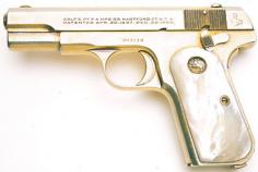 Nickel Plated Pistol