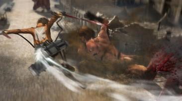 Новый геймплей и подробности Attack on Titan