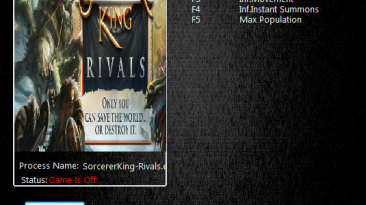 Sorcerer King Rivals: Трейнер/Trainer (+5) [2.0] {MrAntiFun}