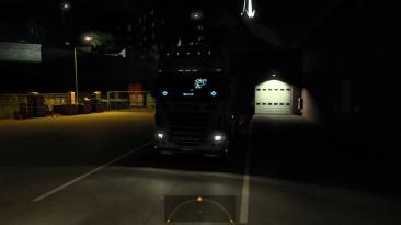 "Euro Truck Simulator 2 ""Звуки Scania Ampelakias 164L 580 V8 v1.0 (1.41.x)"""