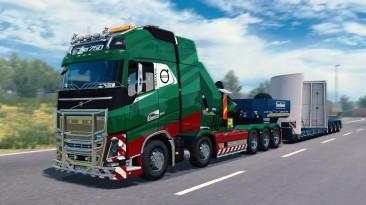 """Euro Truck Simulator 2 """"Мега мод VOLVO FH16 2012 [v1.40.0.122S] (1.40)"""""""