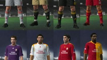 "PES 2009 ""Galatasaray 09-10 Kit Set by mstar"""