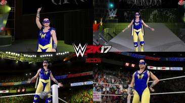 "WWE 2K17 ""Nikki A.S.H '21 Наряд (Лицевая анимация) WWE 2K19 Порт мод"""