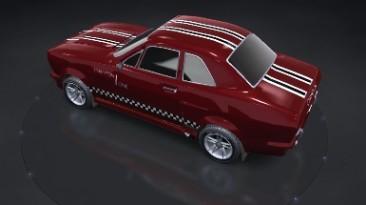 """Trackmania United """"Champion One - скин для автомобиля"""""""