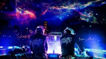 Одна из частей музыкальной головоломки Lumines должна была стать трибьютом Daft Punk