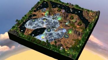 "Heroes Of Might And Magic 5: Повелитель орды ""Карта - Unicorn"""