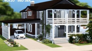"The Sims 4 ""Красивый дом LILY LODGE"""
