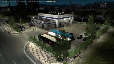 """Euro Truck Simulator 2 """"Новые Префабы Service 2 ETS2 1.35.x"""""""