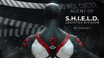 """Spider-Man: Web of Shadows """"Скин Агент Щ.И.Т. + новые текстуры организации Щ.И.Т."""""""