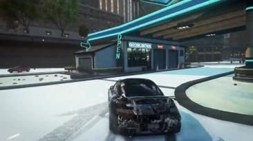 Need for Speed: Most Wanted - Зимний мод