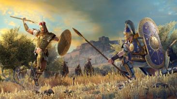 """Total War Saga: Troy """"Нет стратегической угрозы"""""""