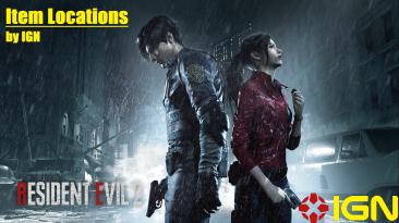 """Resident Evil 2 """" Месторасположение всех предметов"""""""