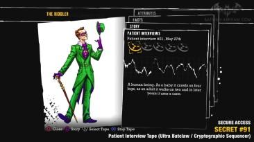 Batman Return to Arkham Asylum - Загадки Риддлера - Медицинское учереждение
