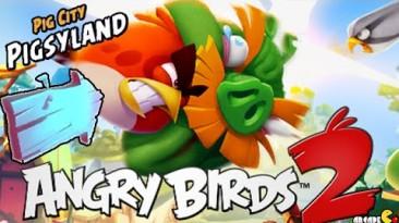 Аддон Pigsyland: 20 уровней и новая свинья для Angry Birds 2