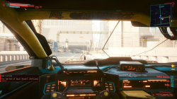 """Cyberpunk 2077 """"Отображение проигрываемой песни на радио"""""""