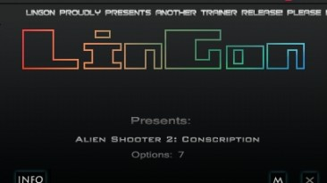 Alien Shooter 2 - Conscription: Трейнер/Trainer (+7) [1.0] {LinGon}