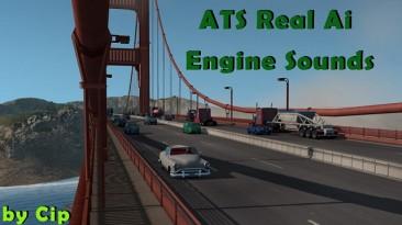 "American Truck Simulator ""Реальные звуки двигателей и трафика ATS 1.35.х"""