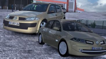 "Euro Truck Simulator 2 ""Renault Megane 2 V1R60 (1.40.x)"""