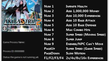 Akiba's Trip: Undead & Undressed: Трейнер/Trainer (+12) [1.0 - Update 4] {FLiNG}
