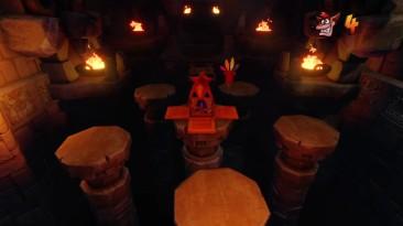 Crash Bandicoot N. Sane Trilogy PS4 (Смешное видео, решил попробовать пройти)