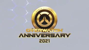 Разработчики Overwatch выпустили ролик, в котором поздравляют игроков с 5-летием игры