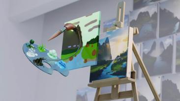Инструмент рисования NVIDIA Canvas мгновенно превращает мазки в реалистичные изображения