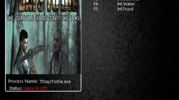 7 Days To Die: Трейнер/Trainer (+4) [13.1 b12 64Bit] {MrAntiFun}