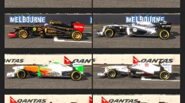 """F1 2011 """"HD texture pack for F1 2011"""""""