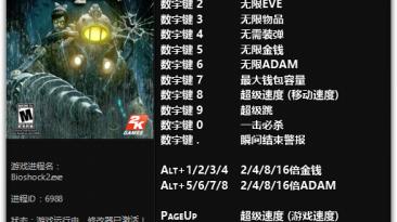 BioShock 2: Трейнер/Trainer (+15) [1.0] {FLiNG}
