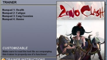 Zeno Clash: Трейнер (+4) [1.0 - 1.1 - 1.2] {CheatHappens}