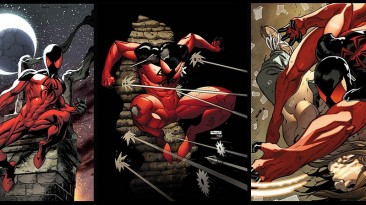 """Spider-Man: Web of Shadows """"Scarlet Kaine Suit"""""""