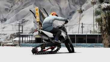 "Grand Theft Auto 5 ""Snow Bike V1"""