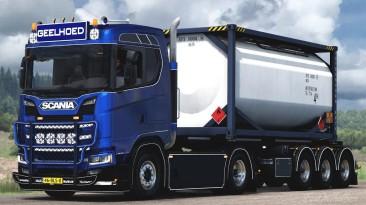 "Euro Truck Simulator 2 ""Geelhoed Scania S450 (1.40.x)"""