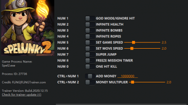 Spelunky 2: Трейнер/Trainer (+11) [1.10 - 1.19] {FLiNG}