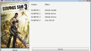 Serious Sam 3 - BFE: Трейнер/Trainer (+4) [3.0.3.0] {GRIZZLY/PlayGround.ru}