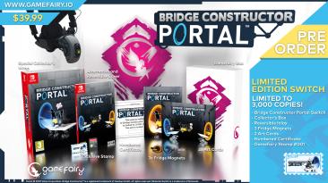 Версия Bridge Constructor Portal для Nintendo Switch получит коллекционное издание