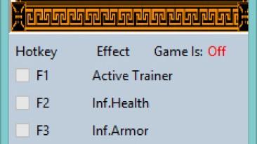 Apotheon: Трейнер/Trainer (+6) [1.2] {MrAntiFun}