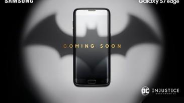 Samsung представит лимитированную версию Galaxy S7 Edge Injustice Edition