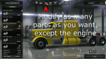 "American Truck Simulator ""Двигатели для всех грузовиков 625HP [TruckersMP] v1.0 (1.41.x)"""